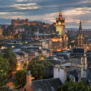 Edinburgh Whisky Tour Skyline